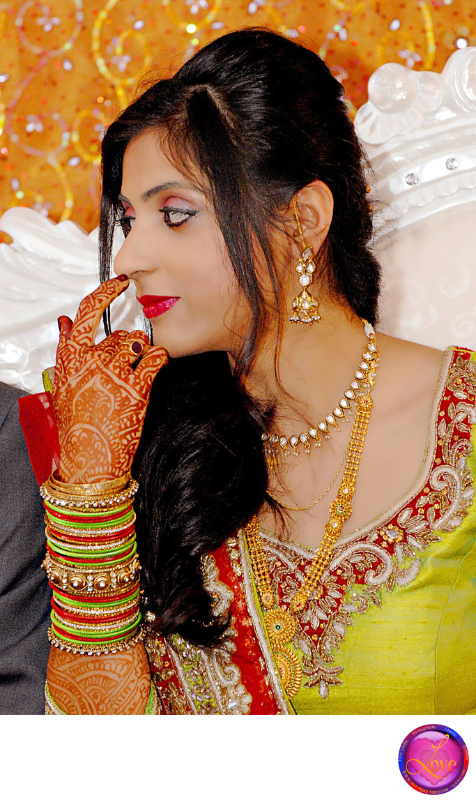Indian Bride in Candid Wedding Photography in GA