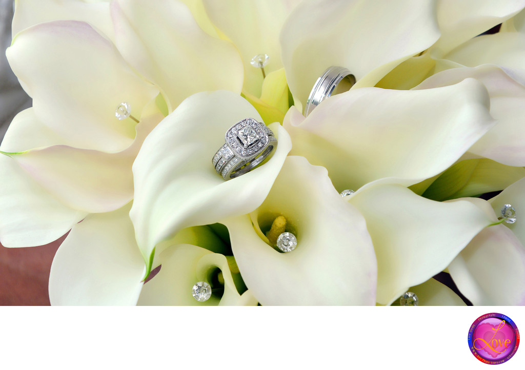 Best Wedding Photographer Ring in Calla Chattanooga TN