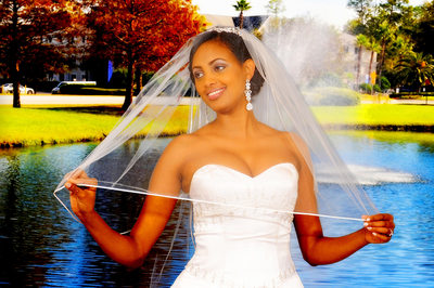Ethiopian Wedding Photographer Atlanta Bride in Action