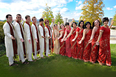 Indian Wedding Photographers Chattanooga TN Bride maids