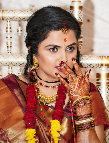 Gujarati Hindu Wedding Photographer Atlanta Bride