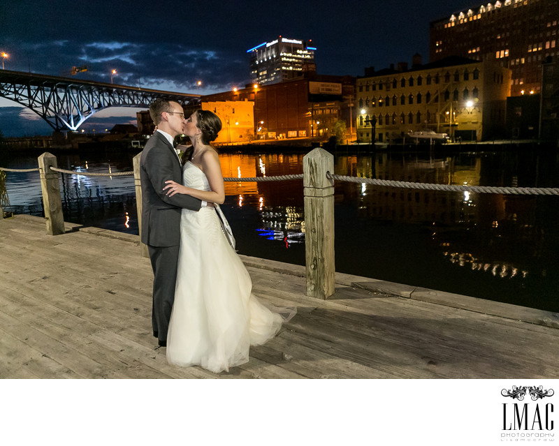 Gorgeous Outdoor Wedding Photo in Cleveland Ohio