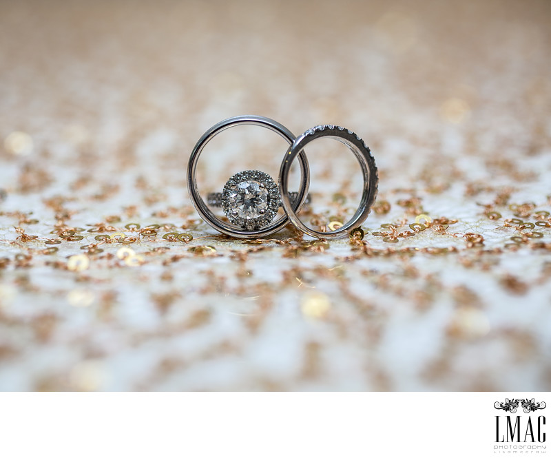 Beautiful and Creative Wedding Ring Shots Home LMAC Photography