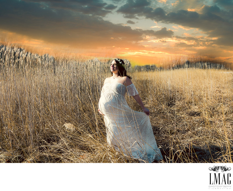 Stunning Fine Art Maternity Photo