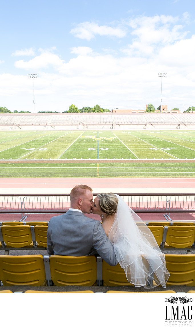 Beautiful Wedding Photos at Baldwin Wallace College