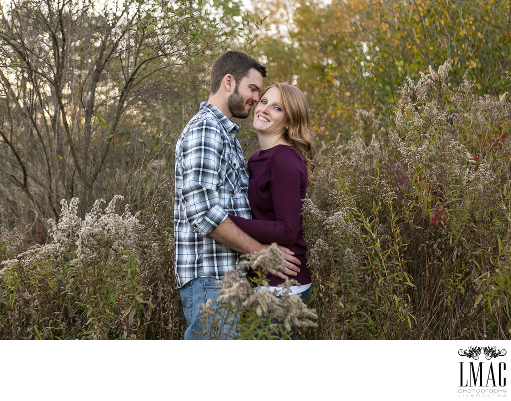 A Fall Engagement Session in Akron, Ohio