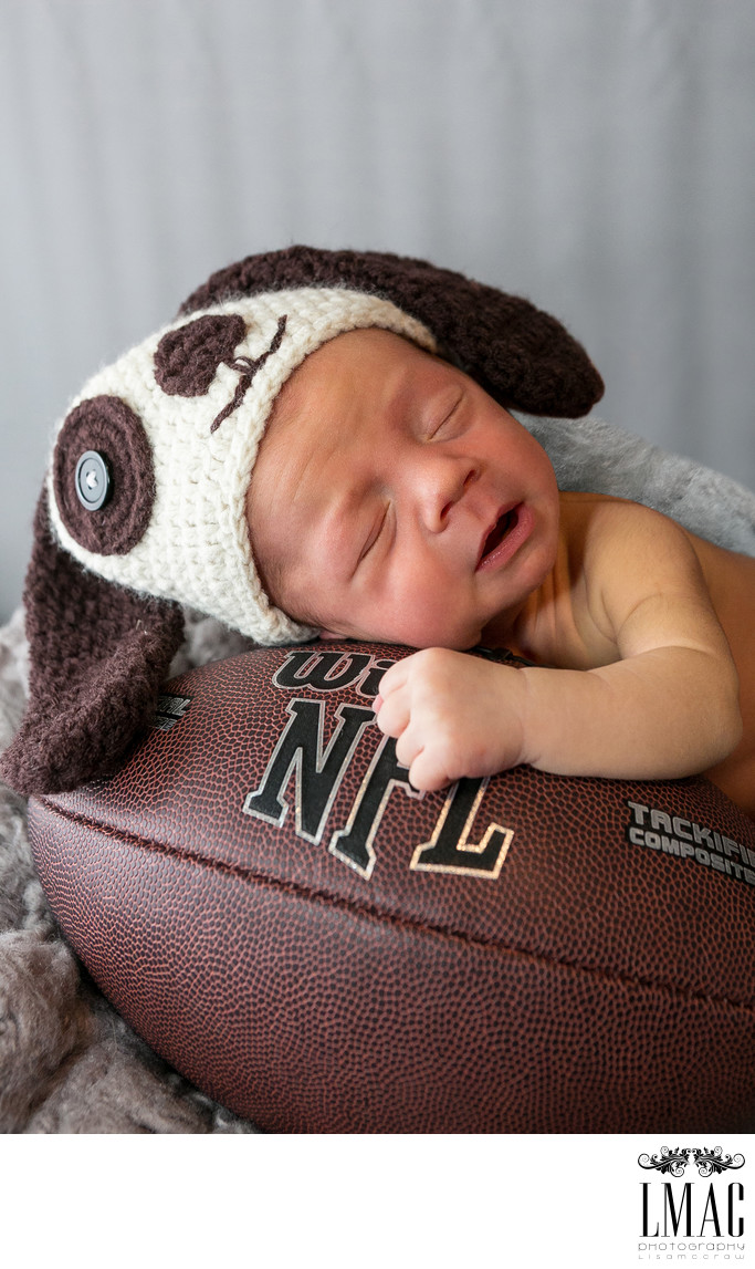 Newborns Love the Cleveland Browns Too
