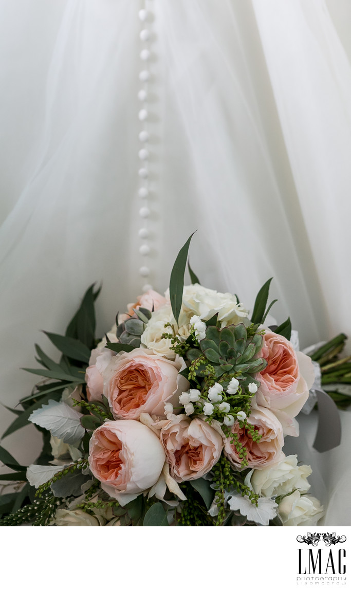 Gorgeous Bridal Bouquet and Wedding Detail Photos