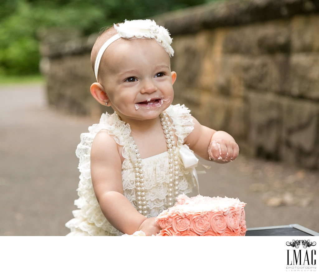 Adorable Cake Smash Photo