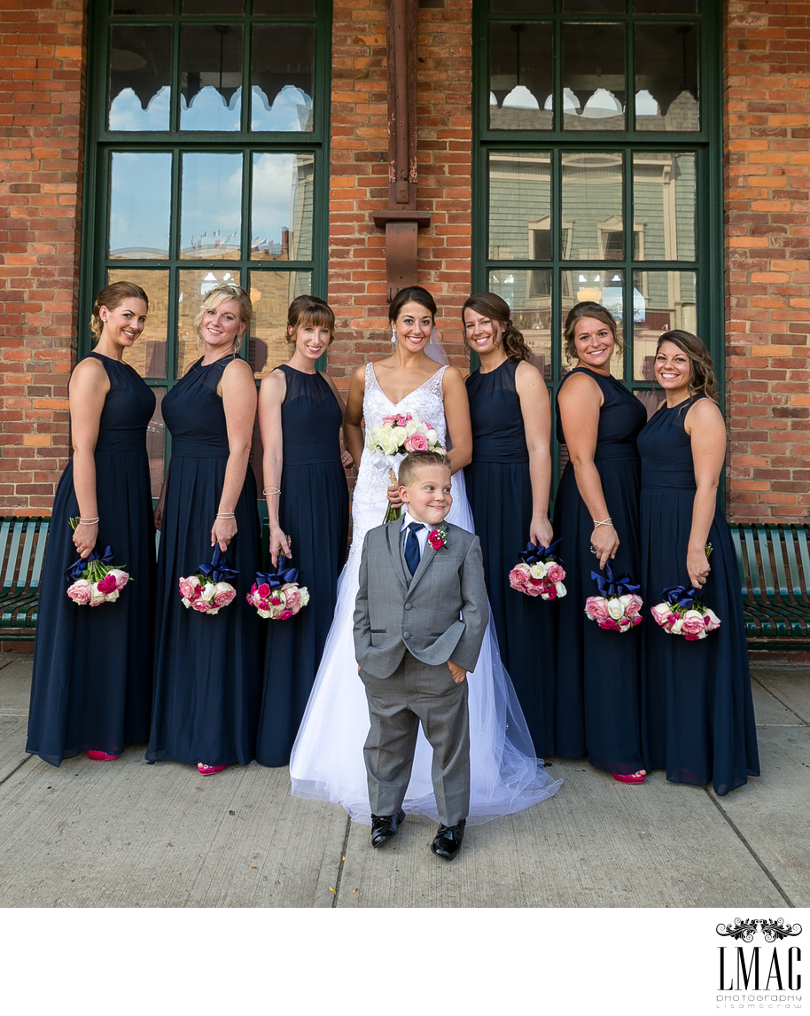 Ring Bearer Photo Steals the Wedding Show