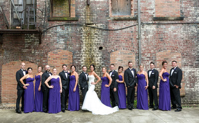 A Spectacular Bridal Party