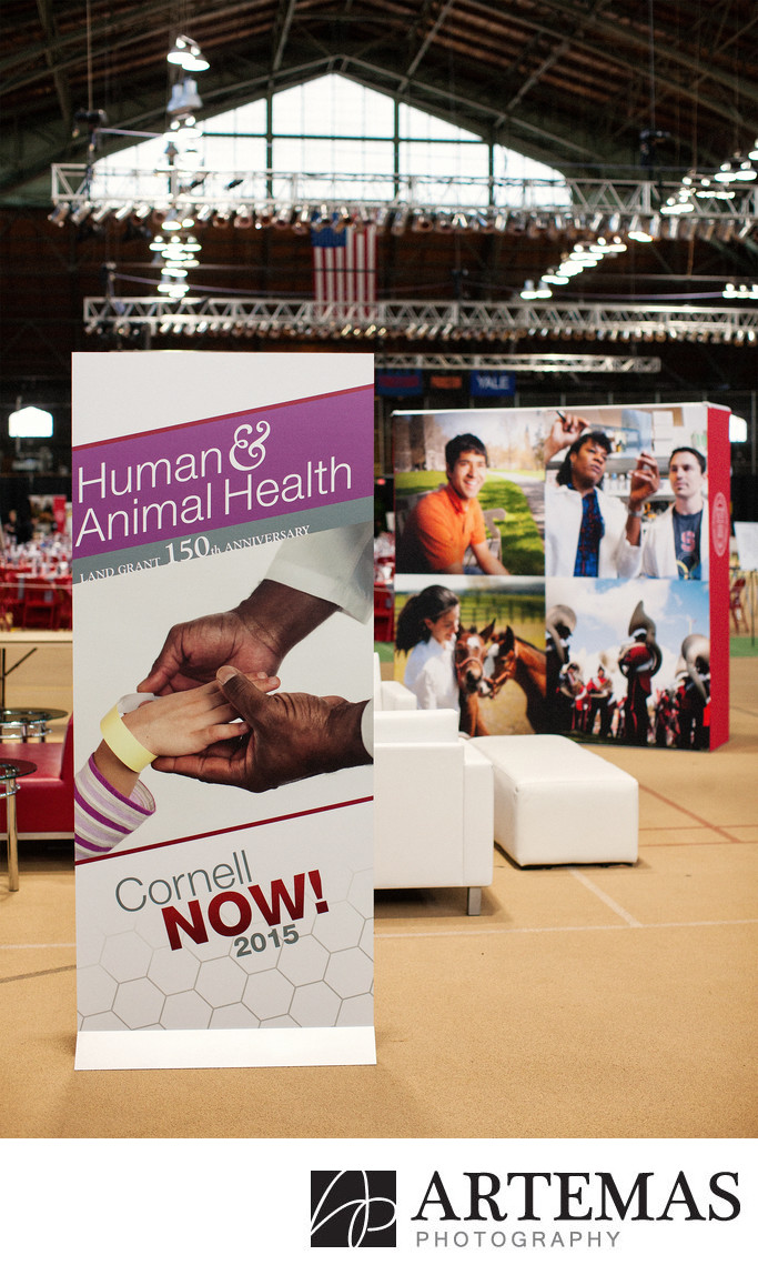 Human and Animal Health in Barton Hall at Cornell