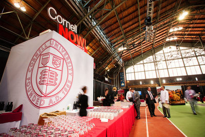 Interior of Barton Hall at Cornell in Ithaca New York