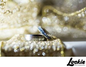 Sparkly Wedding Ring Shots Photographer Montana