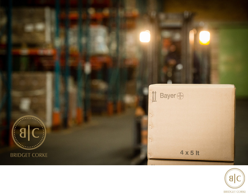 Bayer Warehouse Corporate Photography