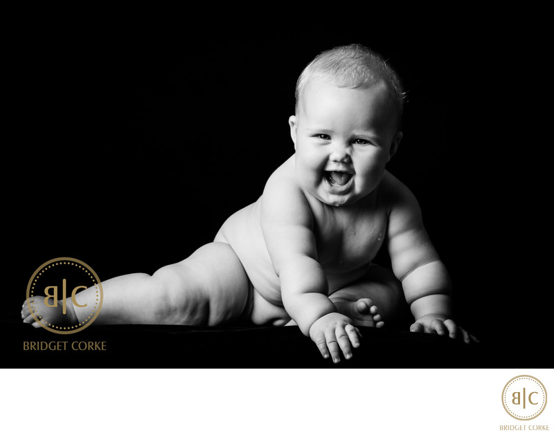 Cute Baby Photographed in Johannesburg Studio