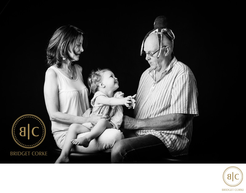 Fun Family Shoot in Johannesburg Studio