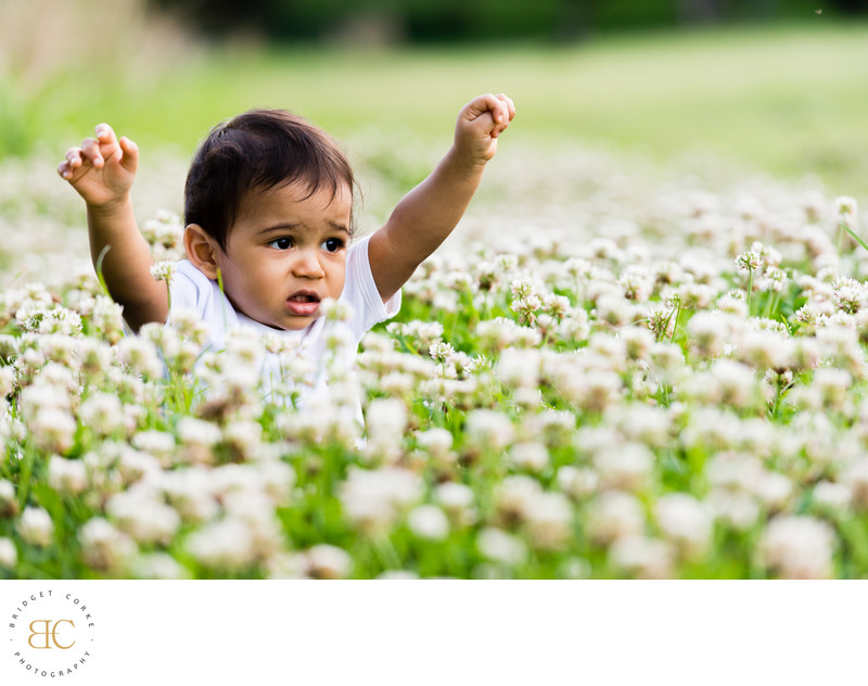 Outdoor Johannesburg Shoot with Toddler & Flowers