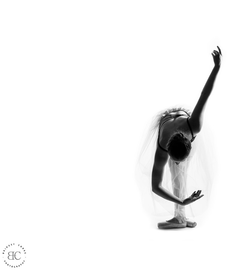Dancer Photographed in Johannesburg Studio