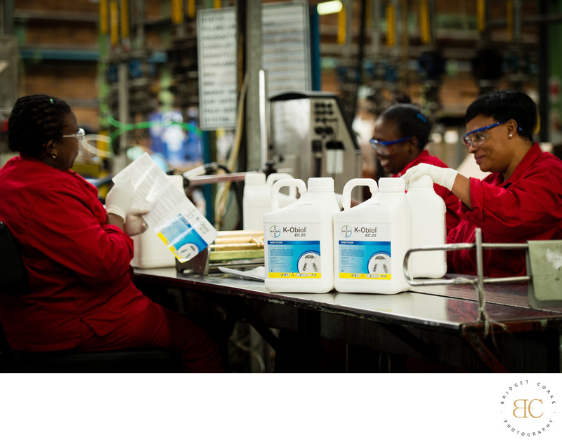 Bayer Factory Corporate Documenatry Photography