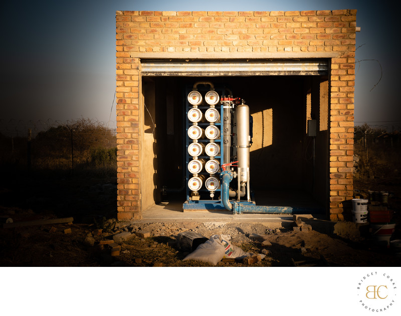 DBSA Desalination Water Treatment Photographer