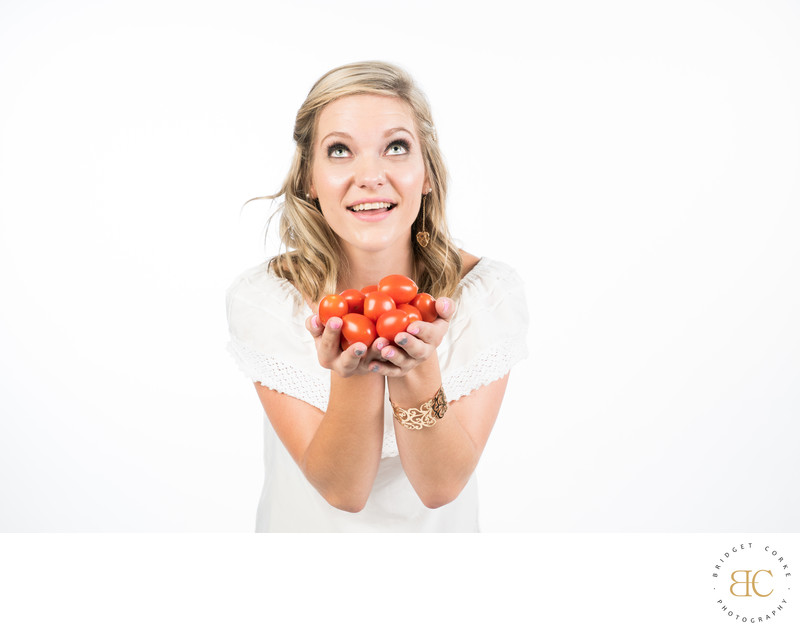 Portrait Profile Photograph Mindful Eating Mignon Jordaan
