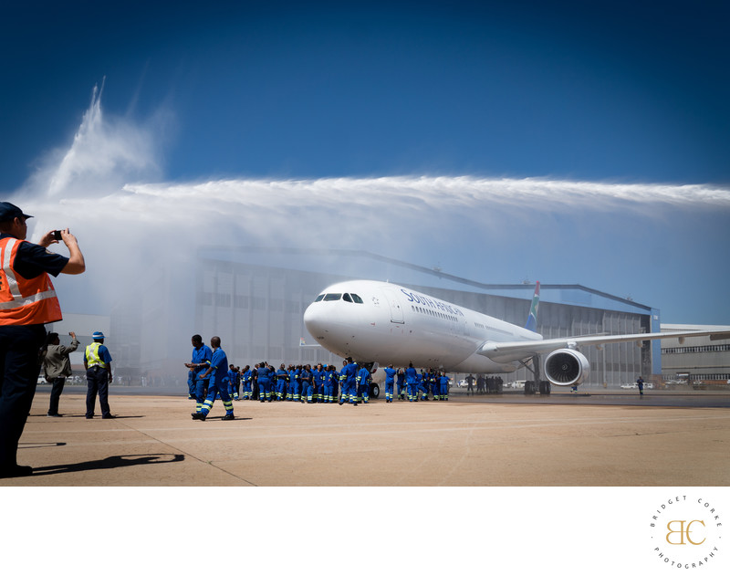 Event Photographer Johannesburg SAA Water Salute