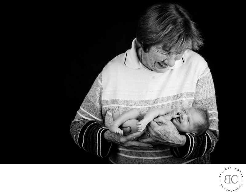 Newborn Shoot Grandparent Johannesburg Photographer