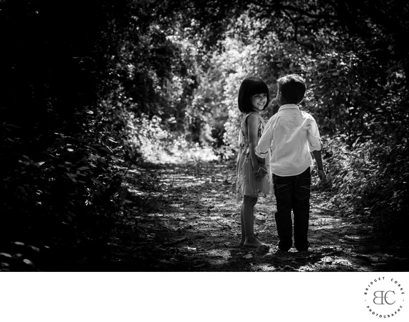 Natural Light Outdoor Child Photographer Johannesburg