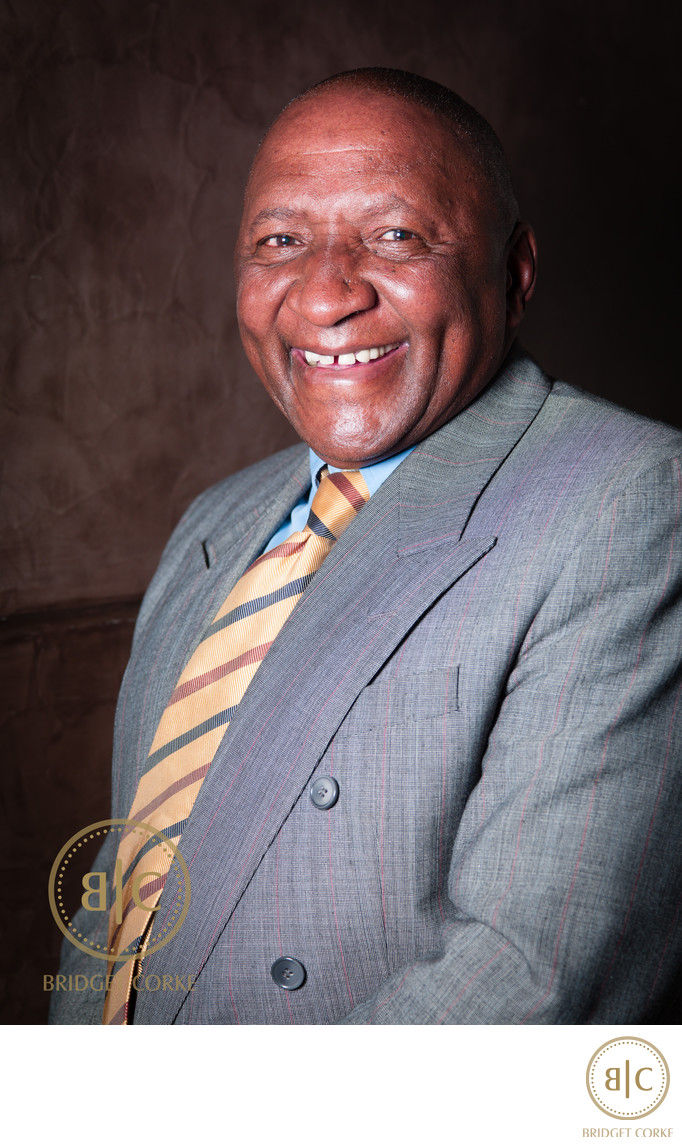 Corporate Portrait of Donald MJ Ncube Goldfields