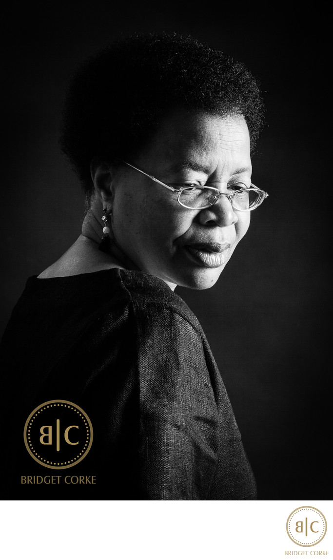 Graca Machel Portrait by Bridget Corke