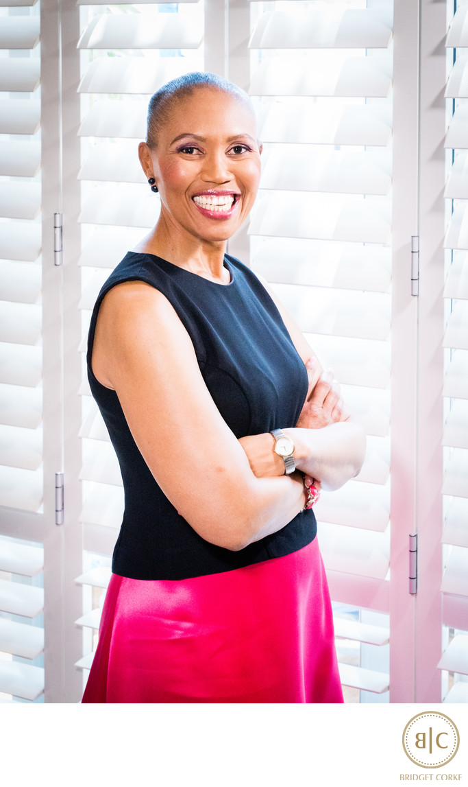 Corporate Portrait of Sindi Mabasa-Koyana