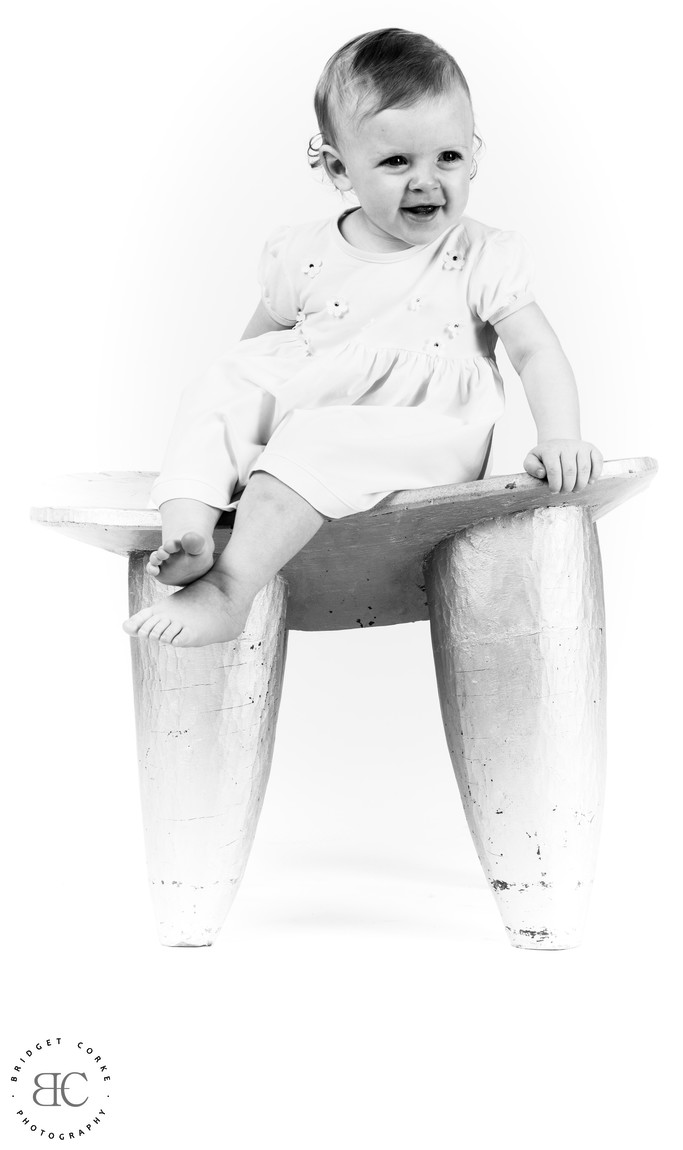 Studio Photography of Toddler