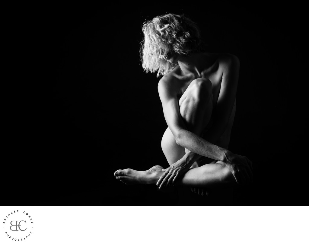 Black and White Nude Photography by Bridget Corke
