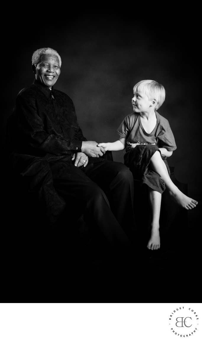 Nelson Mandela Child Portrait Photography Johannesburg