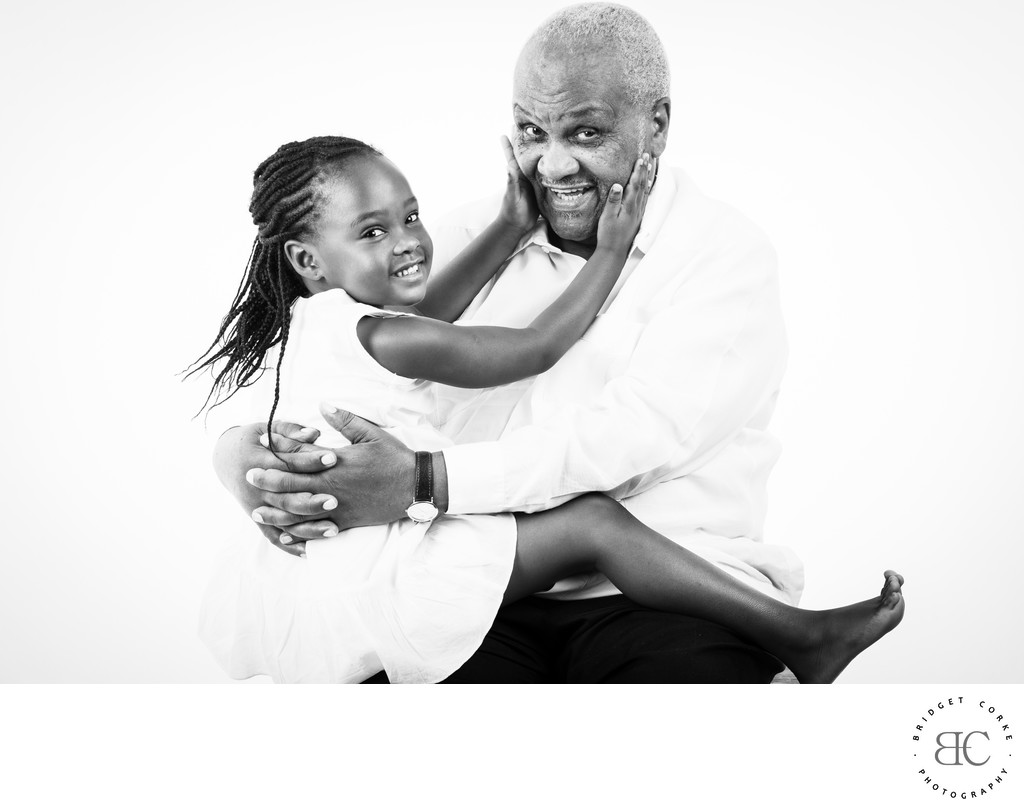 JOHANNESBURG Family White Background Studio Photography
