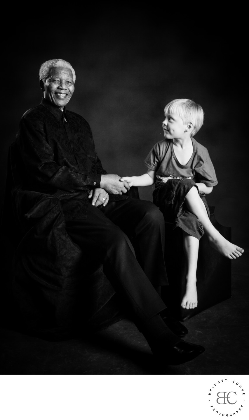 JOHANNESBURG: Experienced Child Portrait Photographer: Nelson Mandela