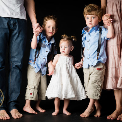 Studio Family Shoot in Johannesburg