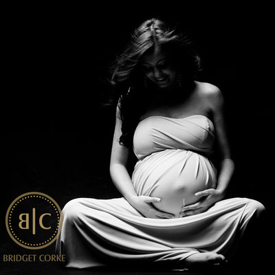 Expectant Mother Studio Photographic Shoot