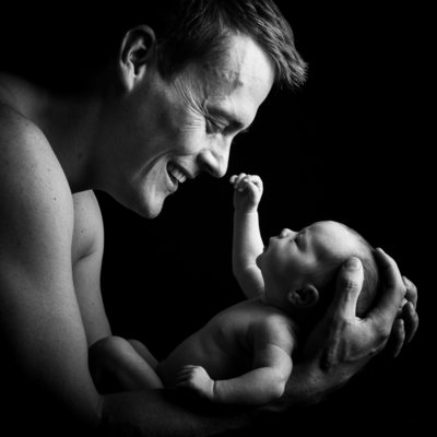 Wonderful Newborn Family Shoot in Bridget Corke's Johannesburg Studio