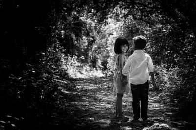Young Siblings Captured in Natural Light Sheffield