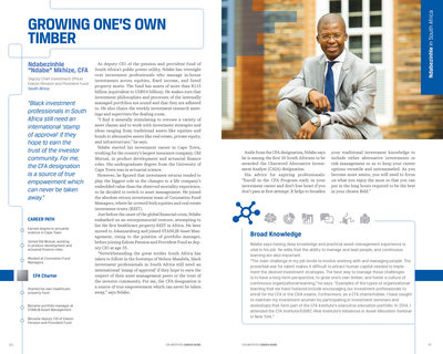 Editorial Photography CFA Institute Ndabe Mkhize