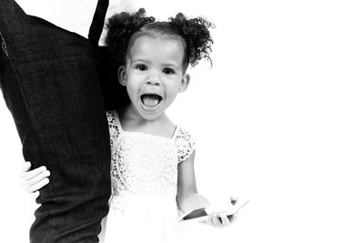JOHANNESBURG: Toddler and Father Photographed in Studio