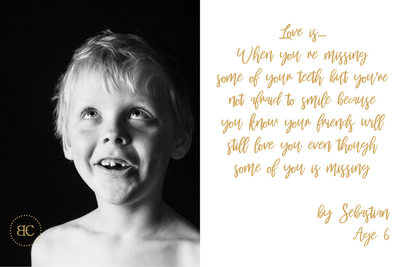 Bridget Corke Children Studio Photography Valentine Teaser