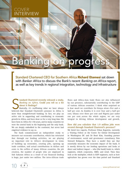 JOHANNESBURG: Editorial Photographer Banker Africa