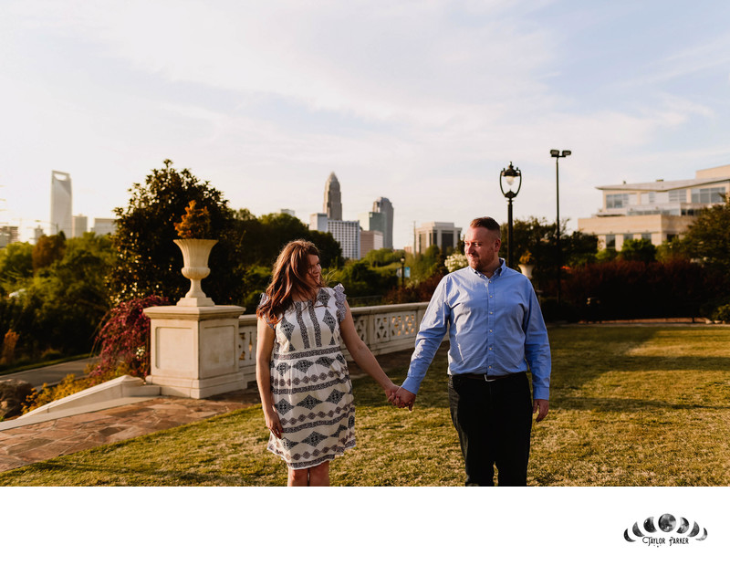 BEST ENGAGEMENT SESSION LOCATIONS IN CHARLOTTE, NC