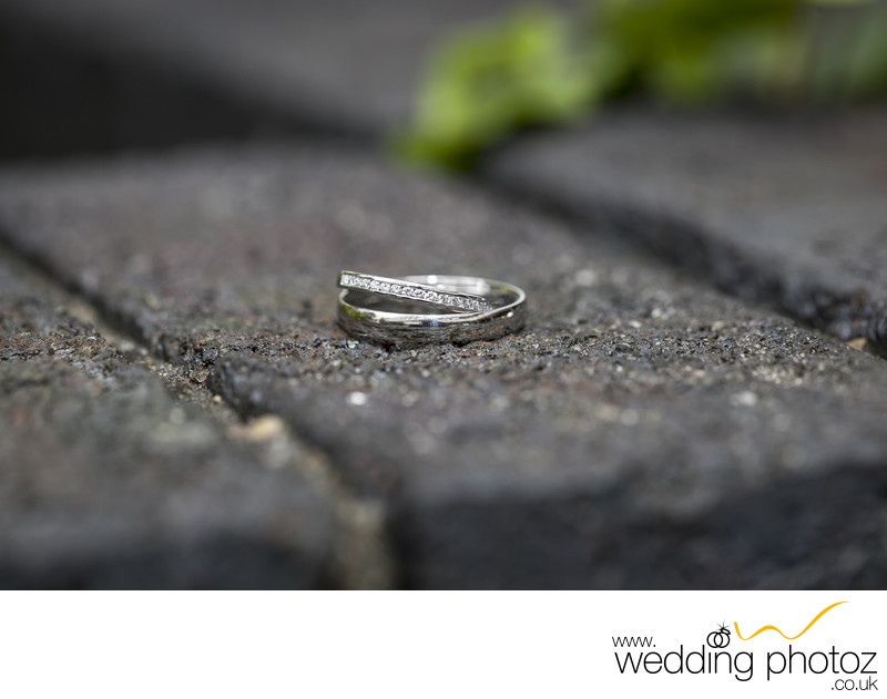 wedding bands detail photo