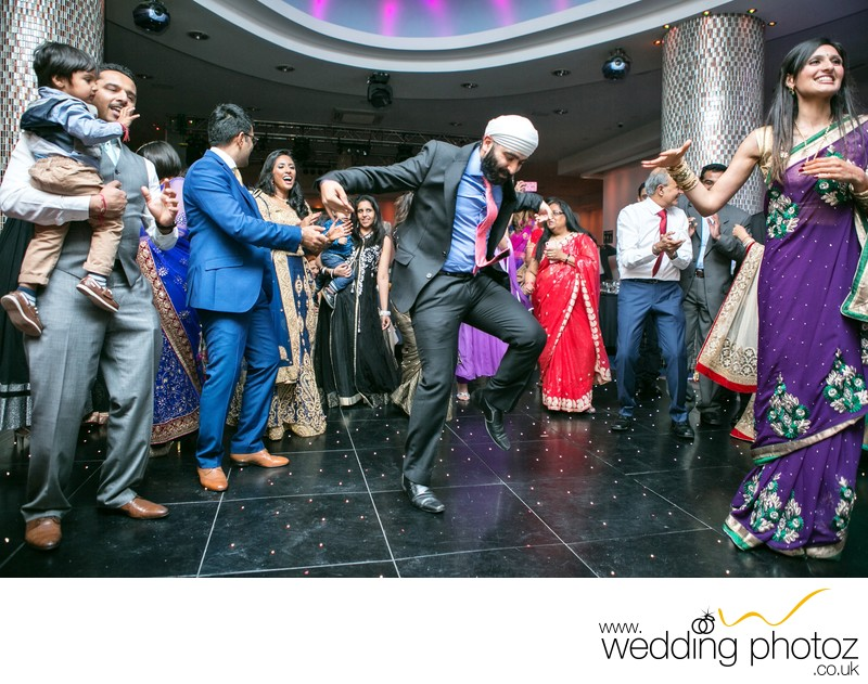Punjabi Reception Photography by Watford photographers
