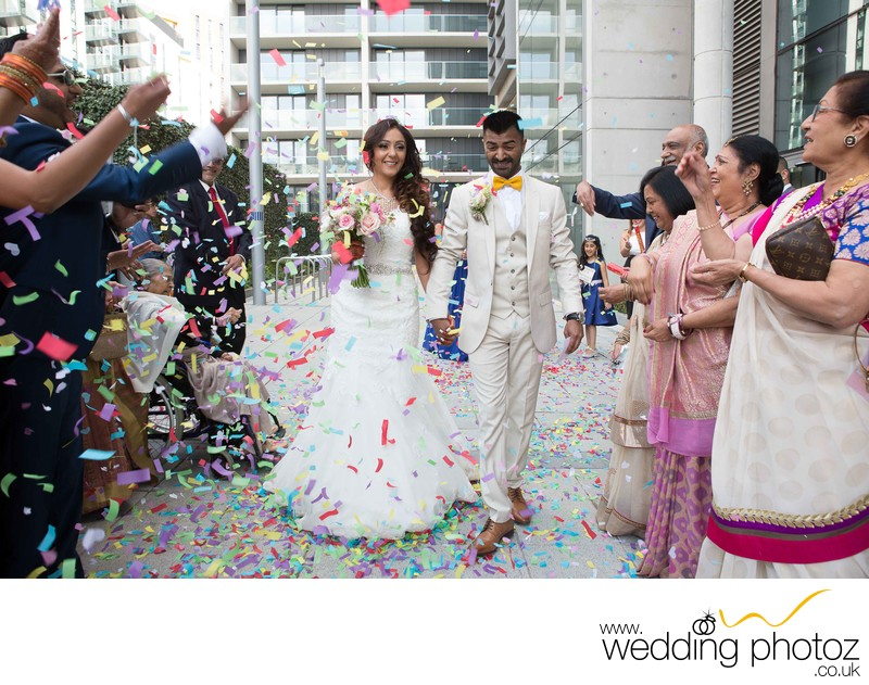 Brent Town Hall Wembley - Civil Ceremony Photographs