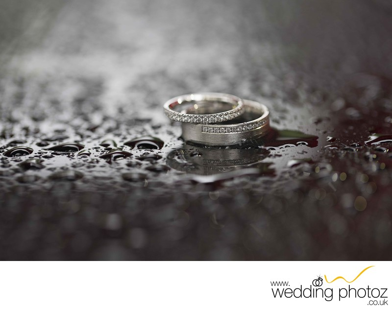 Wedding Ring photography with the details